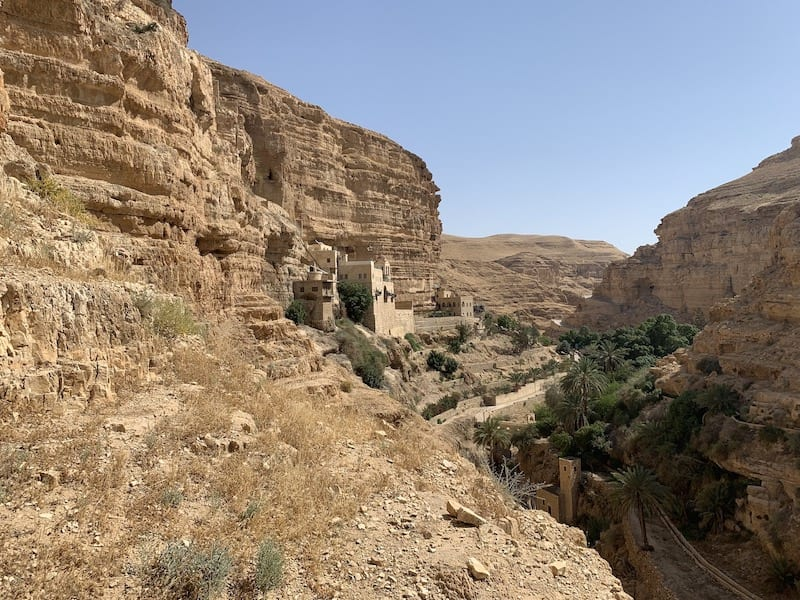 St George Monastery Wadi Quelt